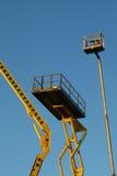 Elevatore della costruzione Immagini Stock