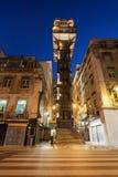 Elevatore della Santa Justa Immagini Stock Libere da Diritti