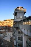 Elevatore della Santa Justa Fotografie Stock