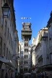 Elevatore della Santa Justa Fotografia Stock