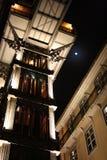 Elevatore della Santa Justa, Lisbona, Portogallo Immagine Stock Libera da Diritti