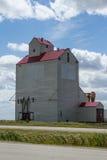 Elevatore di grano della prateria Fotografia Stock