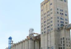 Elevatore di grano di Kansas City Fotografia Stock Libera da Diritti