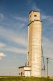Elevatore di grano molto alto Fotografie Stock Libere da Diritti