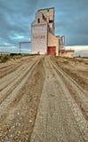 Elevatore di granulo del Saskatchewan Immagine Stock