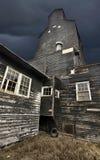 Elevatore di granulo del Saskatchewan Fotografia Stock Libera da Diritti