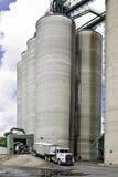 Elevatore di granulo dello Iowa Fotografia Stock Libera da Diritti