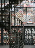 Elevatore di Santa Justa a Lisbona fotografia stock libera da diritti