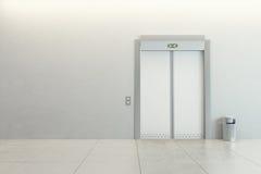 Elevatore moderno Immagini Stock