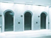 Elevatore nel reparto Fotografia Stock