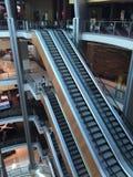 Elevatore in un centro commerciale Fotografia Stock Libera da Diritti