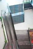 Elevatori e scale Fotografia Stock Libera da Diritti