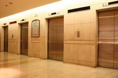 Elevators Royalty Free Stock Photo