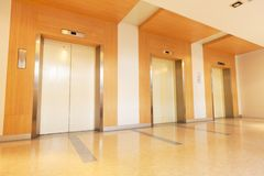 Elevators Royalty Free Stock Photography