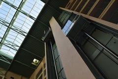 Elevators stock photo