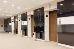 Elevators hall Stock Photos