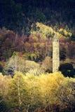 Eleve-se em Glendalough no tempo da mola e do outono Imagens de Stock Royalty Free