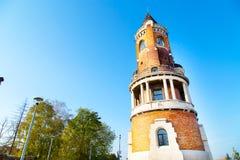Eleve-se no monte de Gardos em Zemun, Belgrado Foto de Stock