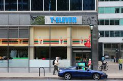 7-Eleven, EUA Fotografia de Stock