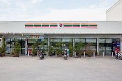 7-Eleven, loja Foto de Stock Royalty Free
