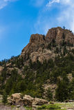 Eleven Mile Canyon Colorado. Beautiful spring and summer nature landscapes taken at Eleven Mile Canyon inside the Pike National Forest of South Central Colorado stock image