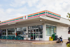 7-Eleven, Mini-Markt Stockbild