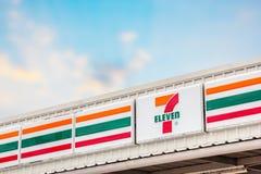 7-Eleven, negozio di alimentari Fotografia Stock