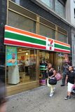 7-Eleven New York Arkivfoton