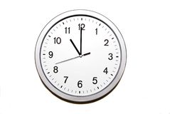 Eleven o'clock Royalty Free Stock Photos