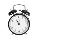 Eleven O' Clock on alarm clock Royalty Free Stock Photography
