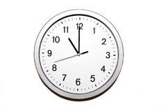 Eleven o`clock Royalty Free Stock Photos