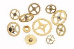 Free Eleven Old Little Cogwheels Stock Image - 2727441