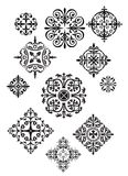 Eleven Ornate Designs Royalty Free Stock Images