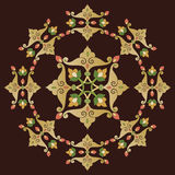 Eleven series designed from the ottoman pattern Stock Photo