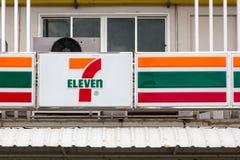 7-Eleven servicebutik Arkivbild