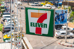 7-Eleven Thailand Arkivbilder