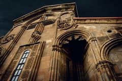 Samtavisi Cathedral royalty free stock photos