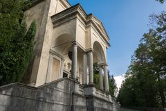 Eleventh Chapel at Sacro Monte di Varese. Italy Royalty Free Stock Photo