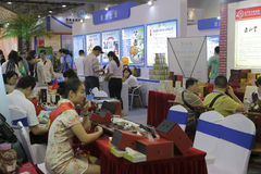 The eleventh taiwan strait travel fair Stock Images