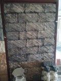 Elewacja kamień dla ściany zdjęcie stock