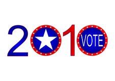 Elezione 2010 Fotografia Stock