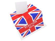Elezione BRITANNICA Fotografia Stock Libera da Diritti