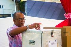 Elezione del distretto Fotografia Stock