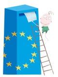 Elezione del sindacato europeo Fotografia Stock