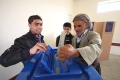 Elezione dell'Iraq fotografia stock libera da diritti