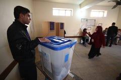 Elezione dell'Iraq immagine stock