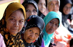 Elezione della Malesia Immagine Stock