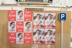 Elezione 2016 della Spagna fotografia stock libera da diritti