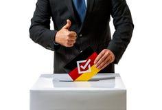 Elezione di Bundestag in Germania fotografia stock libera da diritti