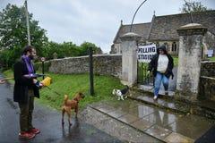 Elezione generale BRITANNICA Fotografie Stock